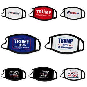 Wholesale Face Mask 3 Layer Ply Earloop Masks Prevent Anti Dust Safe Facemask Ski Pm2.5 Designer Trump Protective Designer Tru #693
