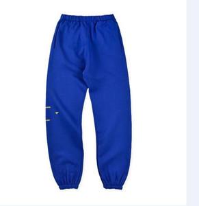 TOP Herren Pants Neue Luxus-Hose mit Panelled Muster lose Kordelzug Sport-Hosen-beiläufige Neun Punkte Jogginghose für einen Mann eine Frau 9421