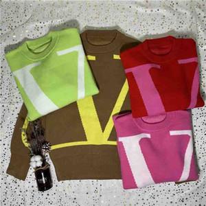 2020ss gömlek ter ilkbahar sonbahar kol örgü kalınlaşmış bb mektubu kazak moda dropshipng