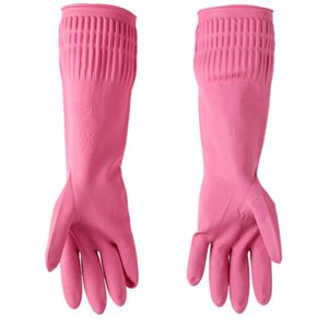 Kitchen Cleaning Latex Washing Gloves Household Durable Waterproof Dishwashing Gardening Glove Cleaning Tools