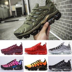 New Original Tn Plus Fashion Casual Shoes Sale Volt Hyper Violet Men Women Shoes Triple White Black Red Blue Trainer Tn Shoes KOAA8