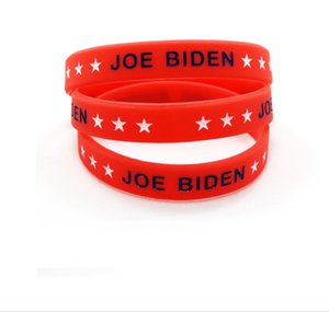 Fashion Biden Bracelet American 2020 Election Silicone Bracelet USA Flag Band Wristband Trump Bracelet ring Party Favor