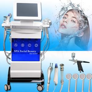 Profesyonel Hidro Mikrodermabrazyon Hydra Dermabrazyon Makinesi Yüz Derin Temizleyici Su Peel Cilt Bakımı yüz mikrodermabrazyon makinesi
