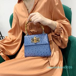 Designer-Weinlese Bambusgriff Frauen Handtaschen-Entwerfer-Marken Alligator Schultertasche Luxus PU-Leder-Umhängetasche Tasche Kleiner Strauß Geldbeutel