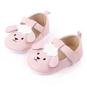 Kids Footwear Shoes Baby Girl Shoes Toddler Infant Anti-slip Cute Cat Cotton Cloth First Walkers