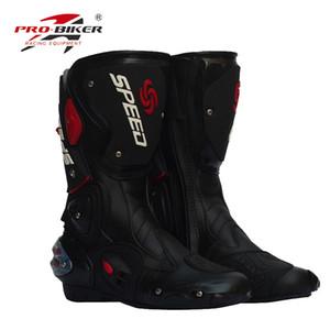 botas calçado de segurança da motocicleta corridas off-road novas dos homens / equitação calçado botas esportivas ao ar livre calçado de bicicleta à prova de vento 3 cores