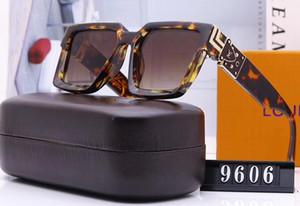 9606 sin montura gafas de sol estilo piloto Hombres Mujeres elección de colores para el verano Carter Vidrios calidad estupenda al por mayor de Marcos
