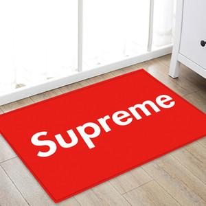 SUP estera del piso de 40x60cm alfombra de baño Baño dormitorio antideslizante Mats franela Gamuza Alfombra Alfombra de ducha para el baño cocina 28 Estilos