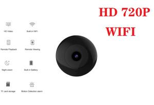 C2 cámara inalámbrica WiFi IP cámara HD 720P mini cámara de visión nocturna cámara de vídeo DV a distancia del monitor del bebé de detección de movimiento