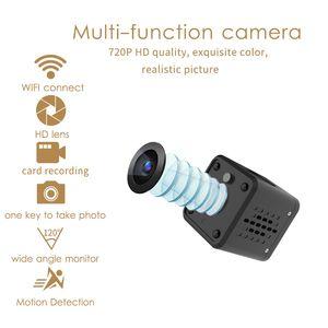 بيع الكتابة على الجدران الذكية كاميرا تويا WIFI بطارية الكاميرا الرئيسية HD كاميرا مراقبة لاسلكية صغيرة WIFI 720P IP كاميرا سحابة التخزين الساخن