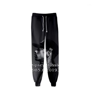 Pencil Pants Printed Designer Mens 3D nipsey hussle Jogger Pants Spring Teenager School Sports Casual R.I.P