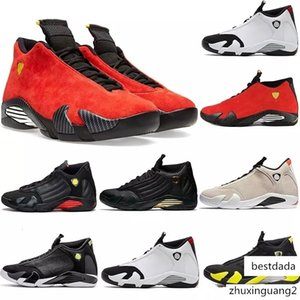 New 14 14s mens Basketball Shoes Desert Sand DMP Last Shot Indiglo Thunder Red Suede Oxidized Candy Cane men Sports Sneakers designer