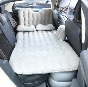2020 воздуха автомобиля Надувной матрас путешествия Кровать универсальна для Заднее сиденье Многофункциональный диван Подушка Открытый кемпинга Мат Подушка