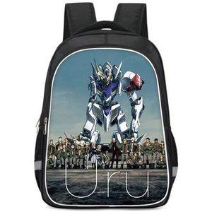 Уру рюкзак Gundam персонаж день пакет железных кровных сирот школьная сумка мультфильм рюкзак фото рюкзак спортивный школьный рюкзак открытый рюкзак