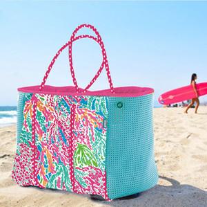 2019 fai da te neoprene borsa moda donne spiaggia Trapeze Tote delle borse di lusso delle donne sacchetti del partito del progettista