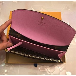 2020 free shipping Wholesale red bottoms lady long wallet multicolor luxury coin purse Card holder original box women classic zipper pocke