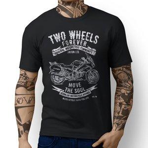 2020 New Men T Shirt 100% Cotton Print Shirts Japanese Classic Motorbike FJR1300 v2 inspired Motorcycle Art design T-shirts
