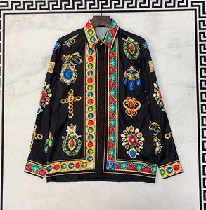 2019 뉴 럭셔리 남성 셔츠 캐주얼 느슨한 레저 남성 셔츠 패션 얇은 라이트 디자이너 셔츠 남성 캐주얼 의류 사회 Camisa 크기 S-3XL
