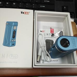 100% Authentic Yocan UNI PRO Box Mod 650mAh батареи Разогреть Variable Voltage В.В. Vape модов с магнитным 510 Адаптер для густого масла Картриджи