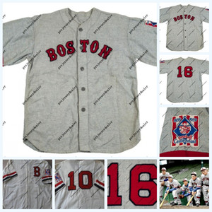 1984 A Tela Natural Desgastada Boston Abelhas Estrada Jérsei Das Mulheres De Mens Júnior Boston Abelhas Jérsei De Basebol Nome Duplamente Costurado e Número