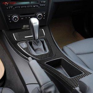 ABS textura de fibra de carbono Negro Panel Shifter Caja para Serie 3 E90 E92 E93