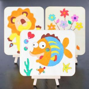 Yepyeni 2018 pudcoco Yeni Gelenler Bebek Oyuncakları Çizim Oyuncak Boyama Kurulu Çocuklar Yaratıcı Erken Öğrenme