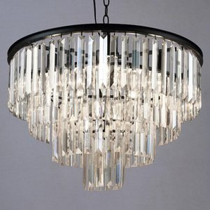 Manggic Crystal K9 Modern Crystal Chandelier Elegant Gray Smoke Crystal Suspension Coffee Lamps Hotel Restaurant