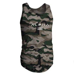 2019 gym T-shirt New popular fashion men's Sports fitness training cotton elastic body-building breathable short sleeves gym t-shirt