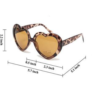 occhiali da sole di plastica a buon mercato per il capretto lunettes de soleil filles Flash Lime favori di partito e Festival TPbsH