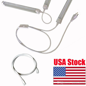 linkable cords for LED Tube Lamp Holder Socket Fittings with Cables 24 Inches LED Connector Wire 2ft 3ft 4ft 5ft Cable