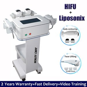 Anti rides HIFU Face Lift Raffermissement machine à haute intensité ultrasons HIFU Eye Lift Pas de traitement chirurgical peau resurfaçage