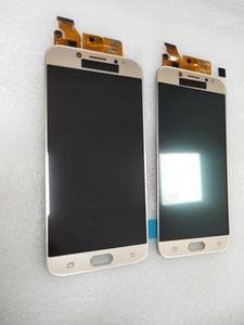 AMOLED LCD الجودة للJ7 برو 2017 العرض LCD J730 J730F مع شاشة تعمل باللمس الجمعية محول الأرقام