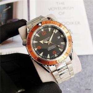 2020 высокое качество Sea horse мужские часы Top Luxury Full Steel 41mm мужские бизнес-часы класса люкс Orologi di lusso shock auto date watch