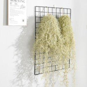 Artificial Grass Aire piña Fake Plastic pared de colgante planta de vid de la boda Inicio Garland decorativo de ratán
