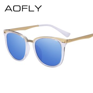 AOFLY Fashion Women's Polarized Sunglasses Vintage Women Brand Designer Shades Eyewear Accessories Driving Sun Glasses AF7968
