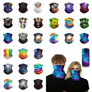 Multipurpose Unisex 3D Magic Head Scarf Outdoor Sport Bandana Head Band Sun Face Cover Snood Windproof Cycling Outdoor Neck Protective