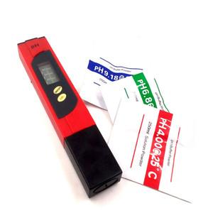Портативный pH-метр для почвы аквакультуры тестер pH значение рН детектор испытания ручка