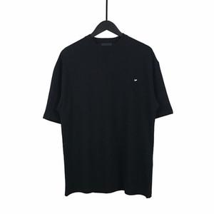 2020 stilvoll kühler Luxus Europa Frankreich Paris Mini Brief Männer Designer-T-Shirts Frauen T-Straße Baumwolle Kurzarm-T-Shirt