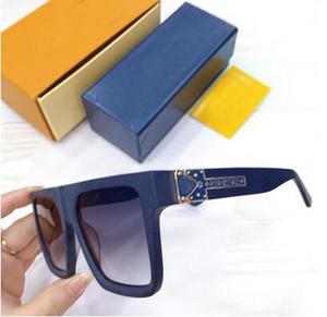 com lentes de caixa de luxo de alta qualidade Clássico piloto Sunglasses Designer Marca das mulheres dos homens óculos de sol Eyewear, Metal, Vidro Top Quality
