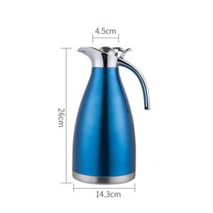 1.5L 304 termo de acero inoxidable tetera de hoteles Pot café termos