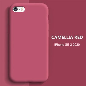 Free shipping is applicable to the iphone's liquid silicone phone case to prevent dust and fall in a variety of colors