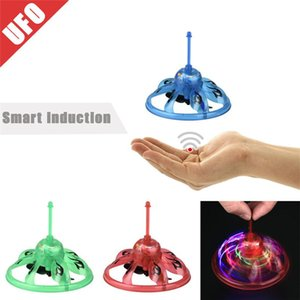 Hand Flying Ufo Ball Led Mini Induction Suspension Rc Aircraft Flying Toy Drone Kid Children Q0590