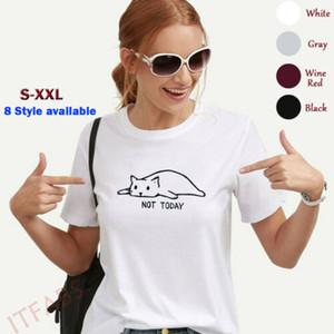 Unisex Paar Fashions Passende Kleidung Herz druckte T-Shirts für Liebhaber Short Sleeve O Ansatz druckte nette Art und Weise Softtops