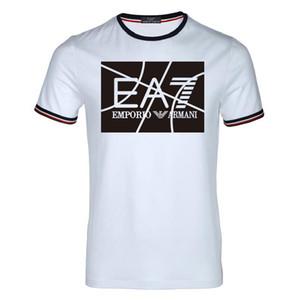 2018 여름 디자이너 T 셔츠 남성 탑스 POLO blous 편지 자수 T 셔츠 남성 의류 브랜드 반팔 Tshirt 여성용 탑스 S-3XL 8788