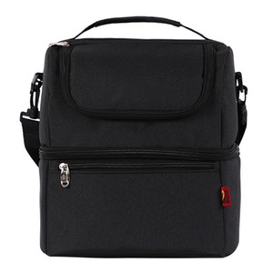 حقيبة الغداء معزول كبيرة مربع للرجال ، المرأة ، أطفال ، قابلة لإعادة الاستخدام المنظم برودة حمل للسفر ، العمل ، نزهة ، المدرسة