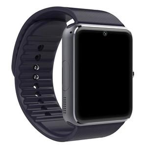 2018 Bluetooth Smart Watch Men GT08 con pantalla táctil Cámara grande con tarjeta SIM para iPhone IOS con teléfono Android