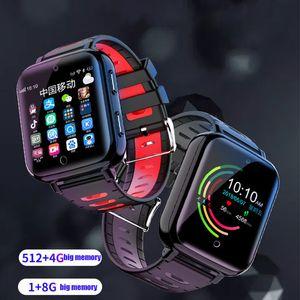 bester Verkauf 4G wifi intelligenter Uhr-Mann scherzt Android6.0 1GB RAM 8GB rom 2MP Kamera GPS-Standortuhr Telefon-Uhr für iOS-Android