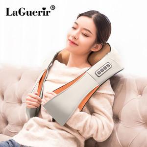 Início Car U Forma Elétrica Shiatsu Voltar Neck Shoulder Body Massager infravermelho aquecida Amassar Car / Home Massagem