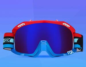 FOX motocicleta off-road capacete óculos de equitação masculina óculos óculos de pára-brisas anti-poeira