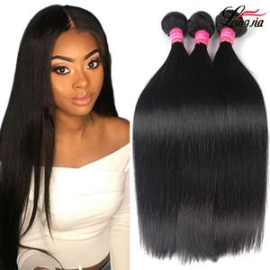 Wholesale Brazilian Straight Human Hair Bundles Unprocessed Brazilian Peruvian Malaysian Virgin Haiir Straight Wet and Wavy Brazilian Hair
